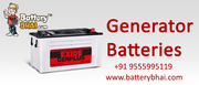 Generator Batteries - BatteryBhai.com