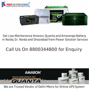 Buy Amaron,  Quanta and Amararaja Battery in Noida,  Greater Noida
