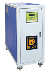 THREE PHASE AIR COOLED SERVO VOLTAGE STABILIZER MANUFACTURER HYDERABAD