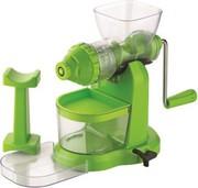 Aalap Deluxe Fruit & Vegetable Green Plastic Hand juicer