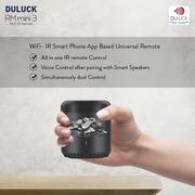 Duluck RM Mini 3 :  Wifi - IR Smart Phone App Based Universal Remote