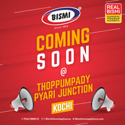 Bismi home appliances| Home Appliance Stores in Kerala